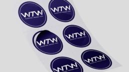 Aufkleber Sticker Etiketten WTW Andorf x1