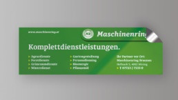 Aufkleber Sticker Etiketten WTW Andorf x2