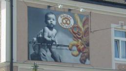 Banner Bauzaunblenden WTW Andorf x2