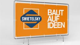 Banner Bauzaunblenden WTW Andorf x6