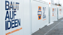 Container Anhaenger Beschriftung WTW Andorf x1
