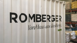 Container Anhaenger Beschriftung WTW Andorf x3