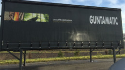 Container Anhaenger Beschriftung WTW Andorf x4