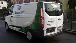 Fahrzeugbeschriftung CarWrapping WTW Andorf x23