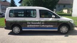 Fahrzeugbeschriftung CarWrapping WTW Andorf x24
