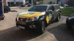 Fahrzeugbeschriftung CarWrapping WTW Andorf x25