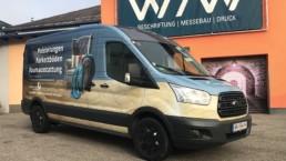 Fahrzeugbeschriftung CarWrapping WTW Andorf x27