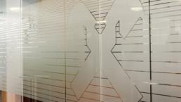 Glasdekor Folie WTW Andorf x2